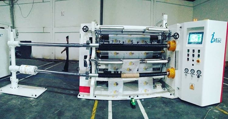 Slitting Machine ISL-130MA9 - PT. Imac